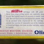 Western Super-Match 45 Automatic Ammunition Box Back