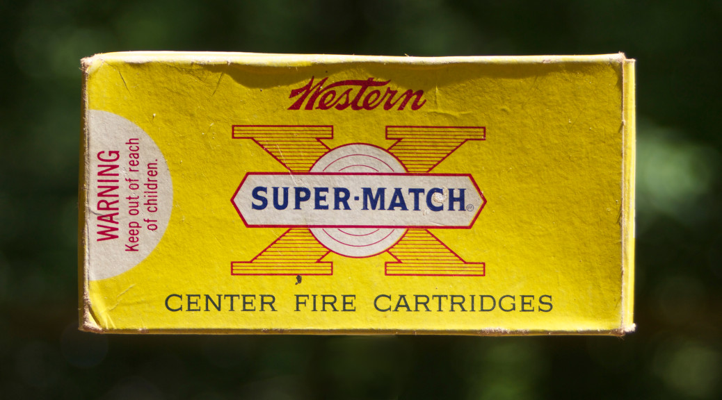 Western Super-Match 45 Automatic Ammunition Box Front